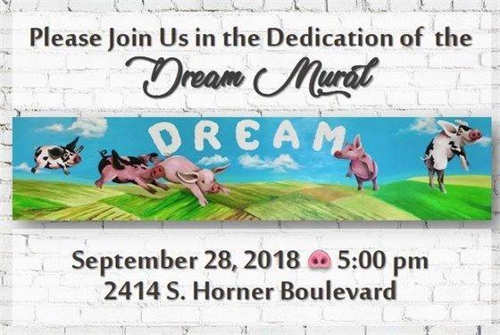 DREAM Mural Invite