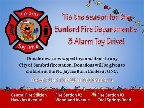 Fire Toy Drive