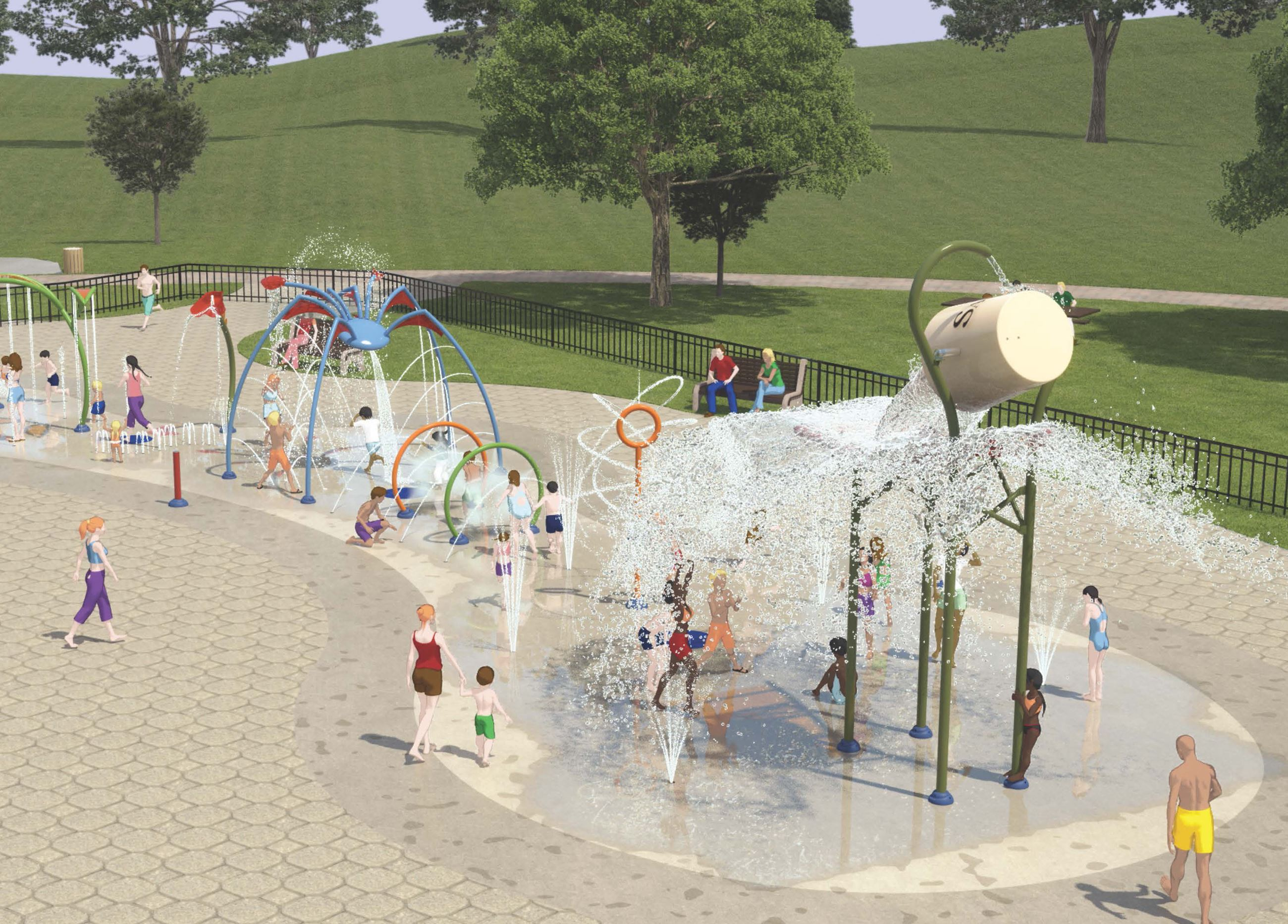 Kiwanis Family Park Splash Pad