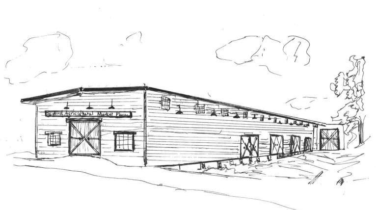 Sanford Agricultural Marketplace Rendering